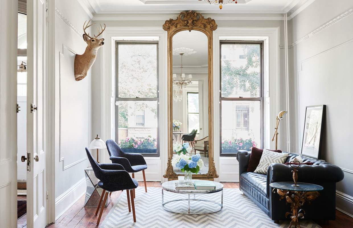 Brooklyn Brownstone Living Room Jeremyville Cococozy