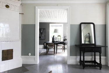 tone room walls living grey block wall paint colors toned cococozy decor bedroom rooms interior lovelylife examples modern go without
