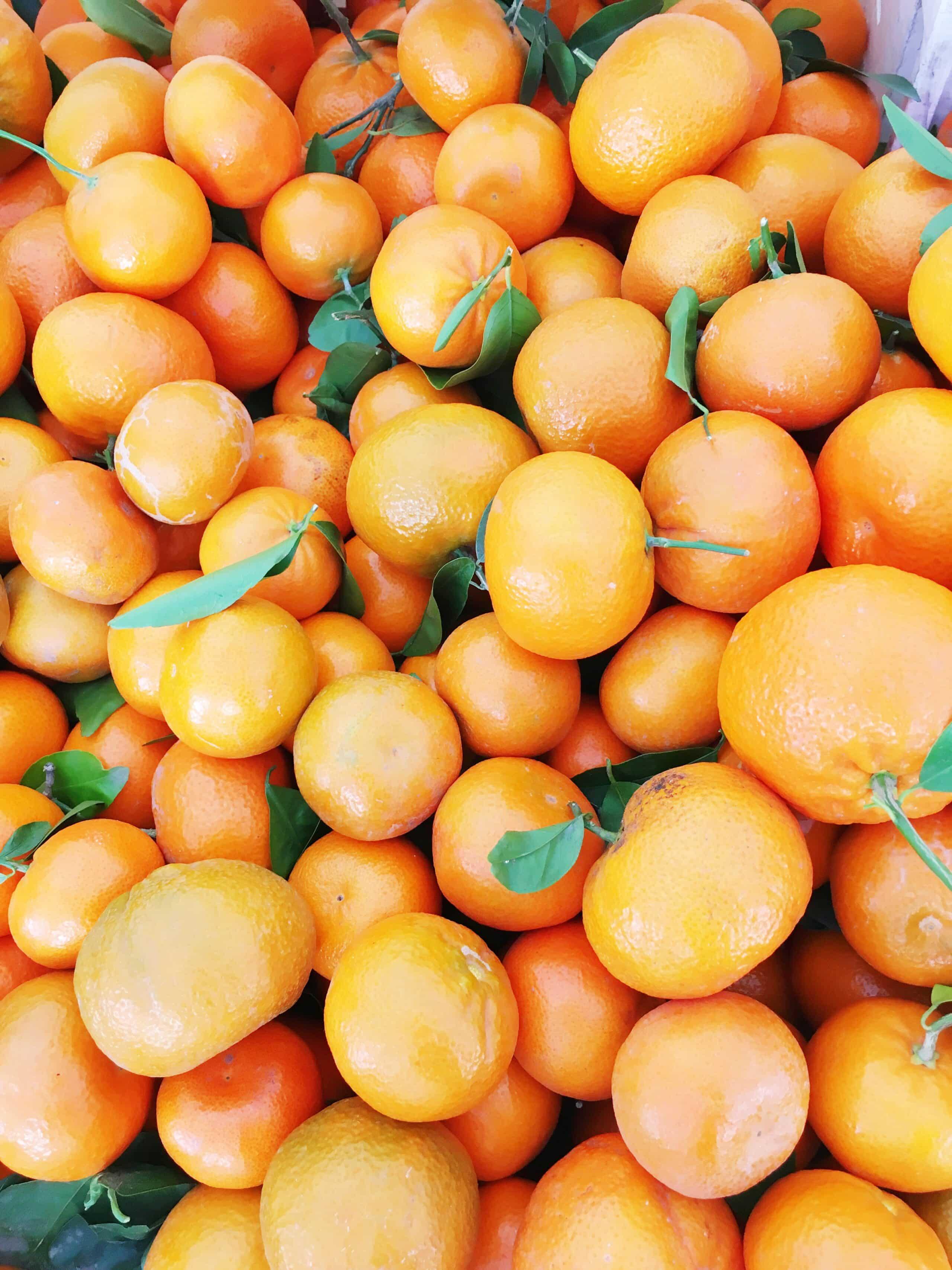 Melrose Place Farmers Market Mandarine Oranges