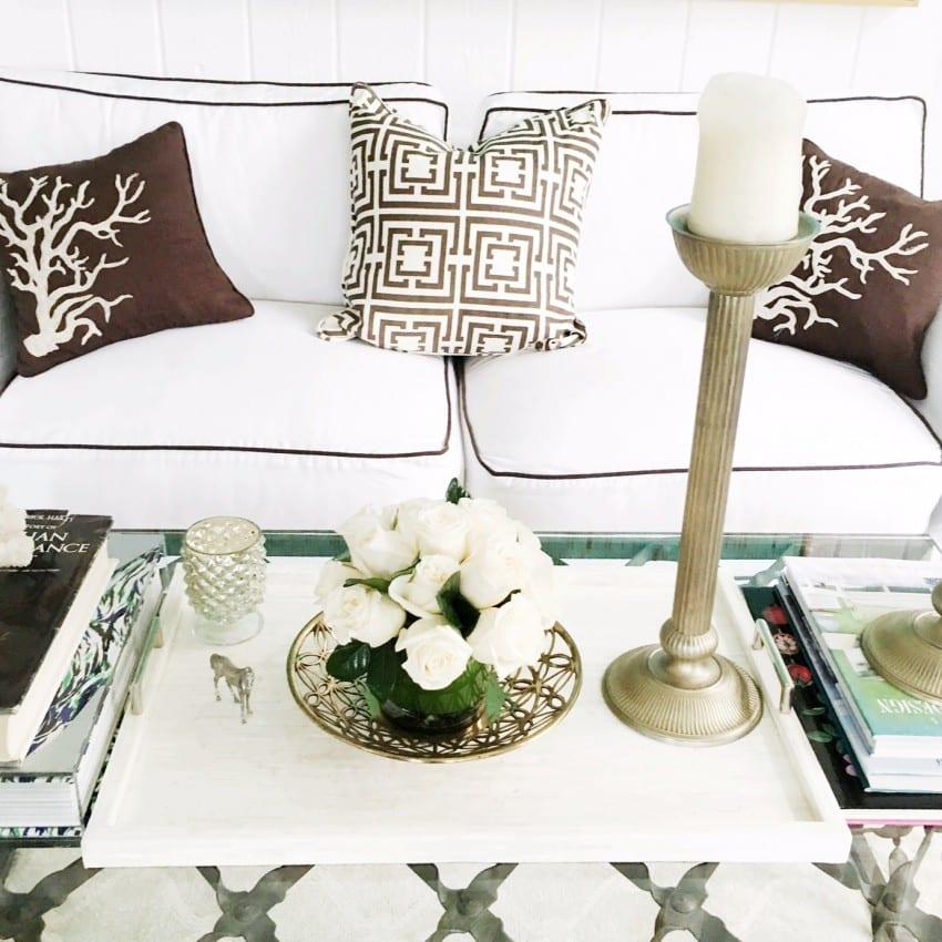 Living Room Coffee Table Decor