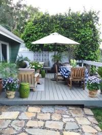 Outdoor Deck Decor - My Winter Garden Spruce Up | COCOCOZY