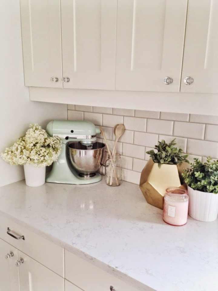 Pretty Pastel Kitchen Mixer