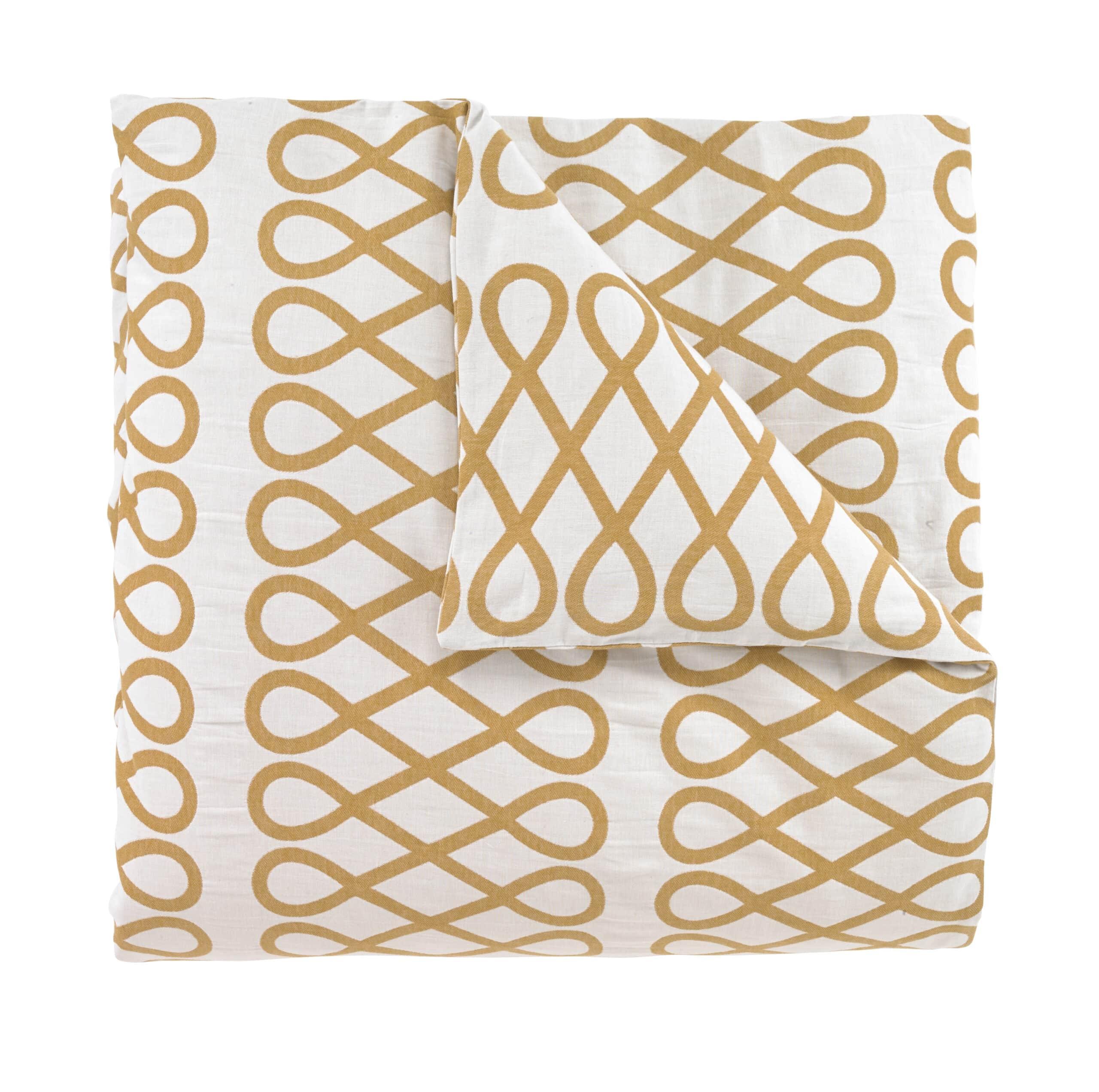 Loop Ochre Duvet All Modern Bedding Cococozy Bedding