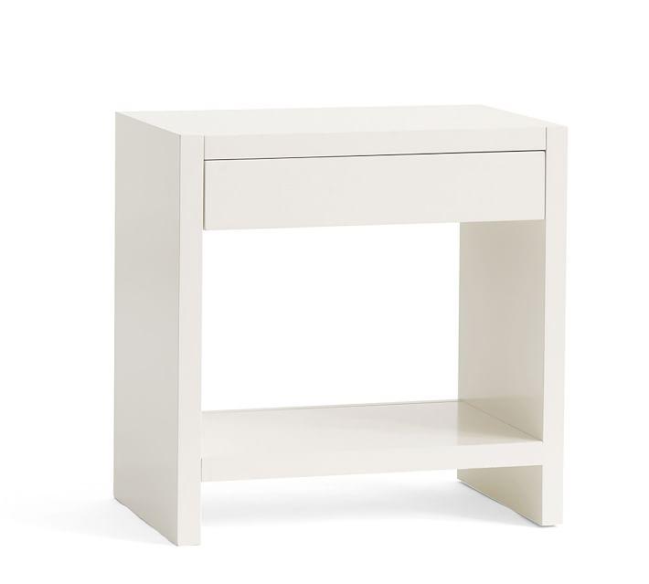 Alden Bedside Table White Nightstands