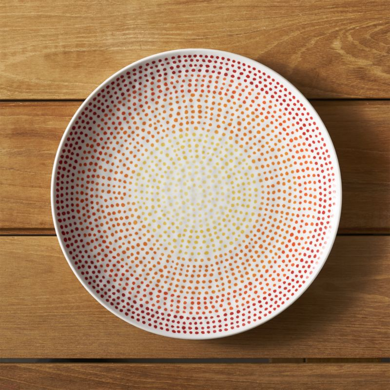 Love these Ombre Melamine Plates