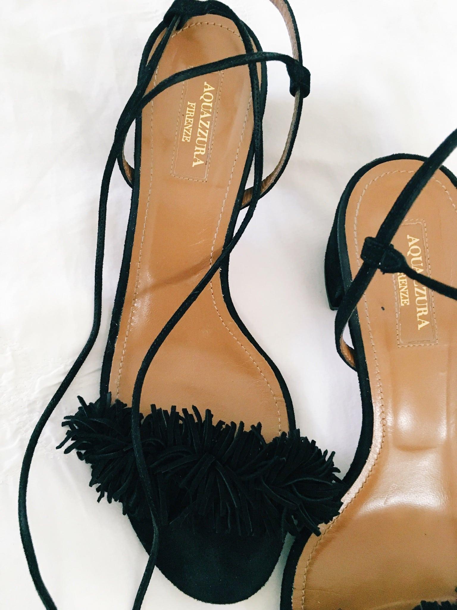 aquazzura firenze fringe shoes