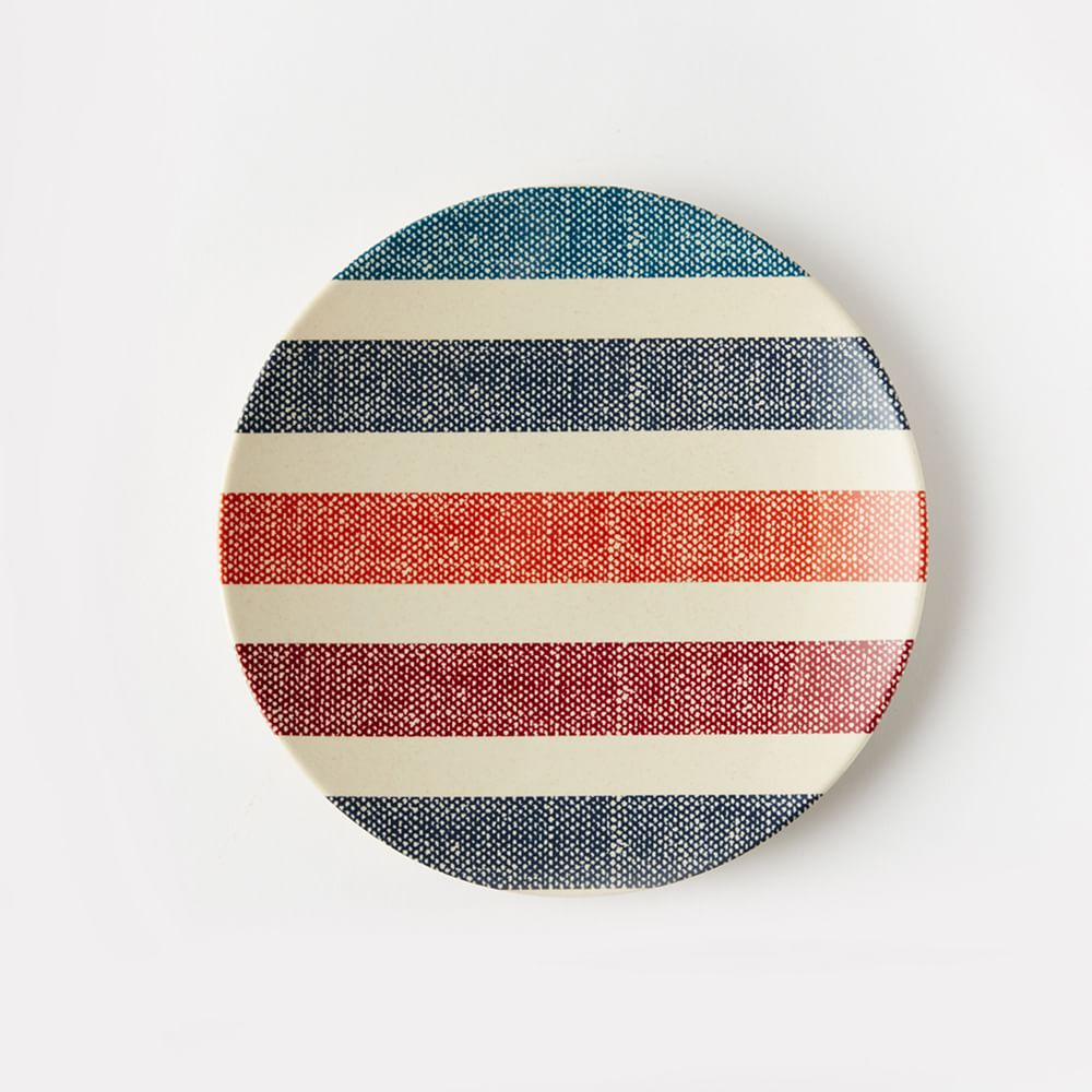 These West Elm plates are a perfect option that's colorful, bold, and adds warmth to any table setting.