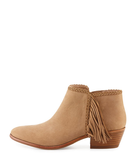 Sam Edelman booties are one of my favorites - comfortable and on trend. The fringe detail is fabulous and they are only $140!