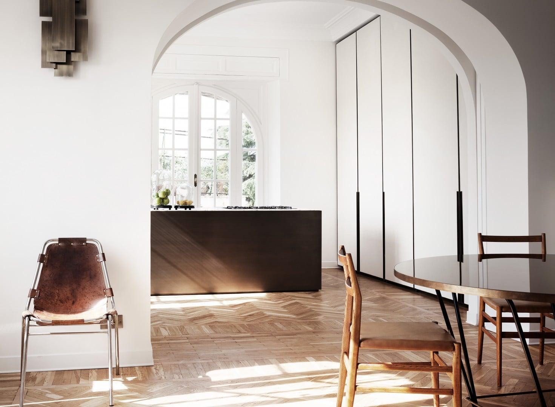 Modern Rome Apartment Kitchen