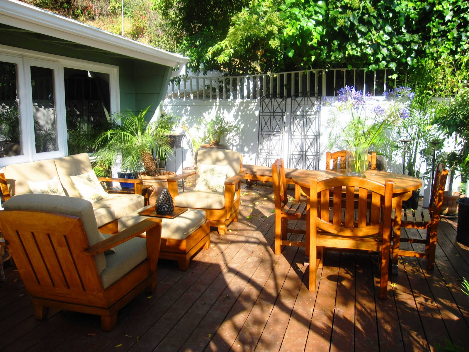 Hollywood Hills deck 2009