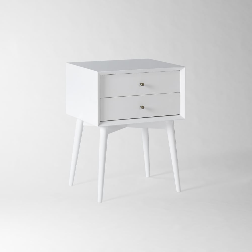 11 White Nightstands | COCOCOZY
