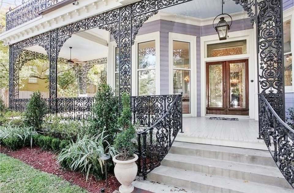 Southern Style Now New Orleans Garden District Home