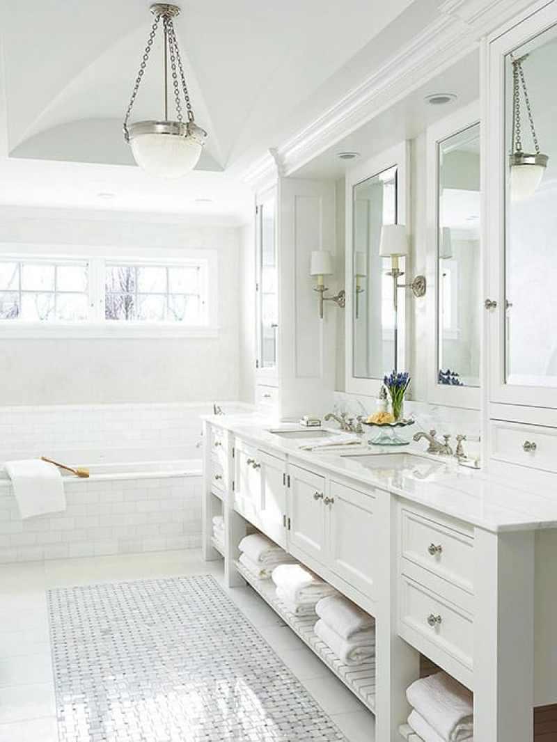 Bright-White-Bathroom-Subway-Tiles- Cococozy