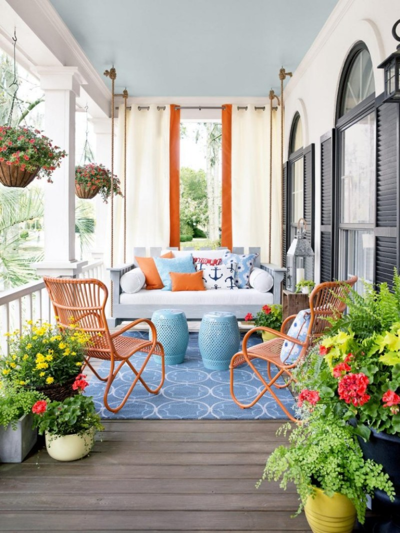 front porch swing southern porches hgtv cococozy