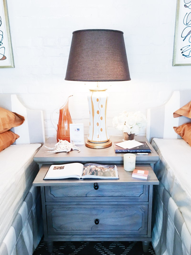 Travel Inspired Guest Room: Fashion Inspired Guest Room