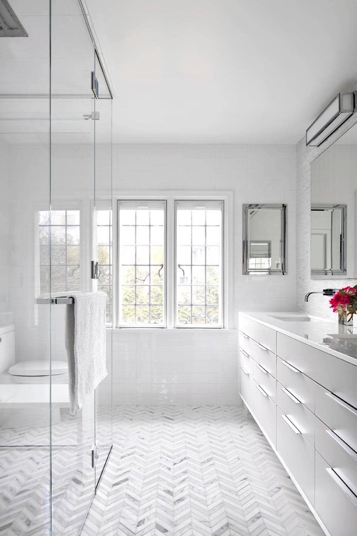 Amazing  HGTV Bright White Bathroom Cococozy