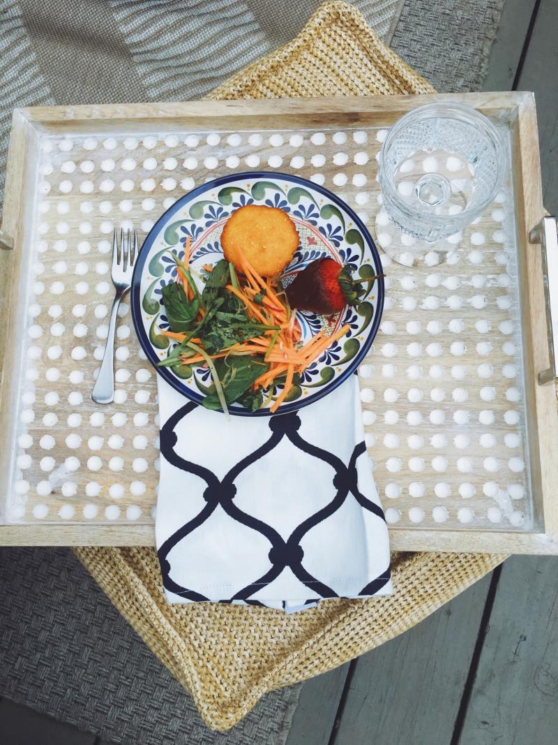 Sunday Brunch Tray Melamine Plate
