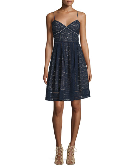 Joie-Solandra-Sleeveless-Lace-blue-Dress-cococozy