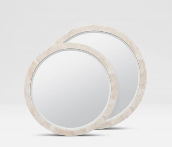 Made Goods Clamstone Mirrors
