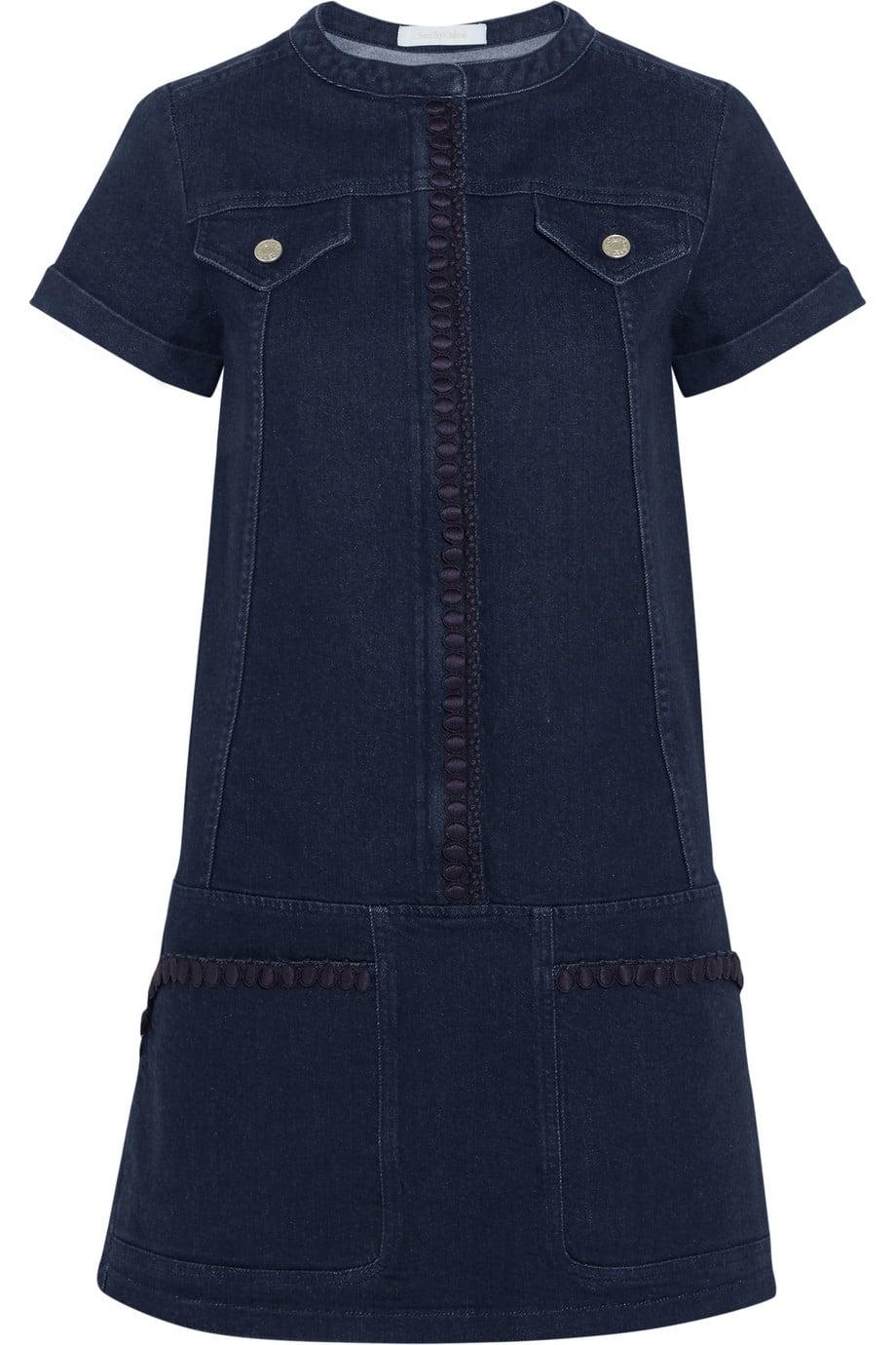 Little Blue Dress Chloe Blue Denim
