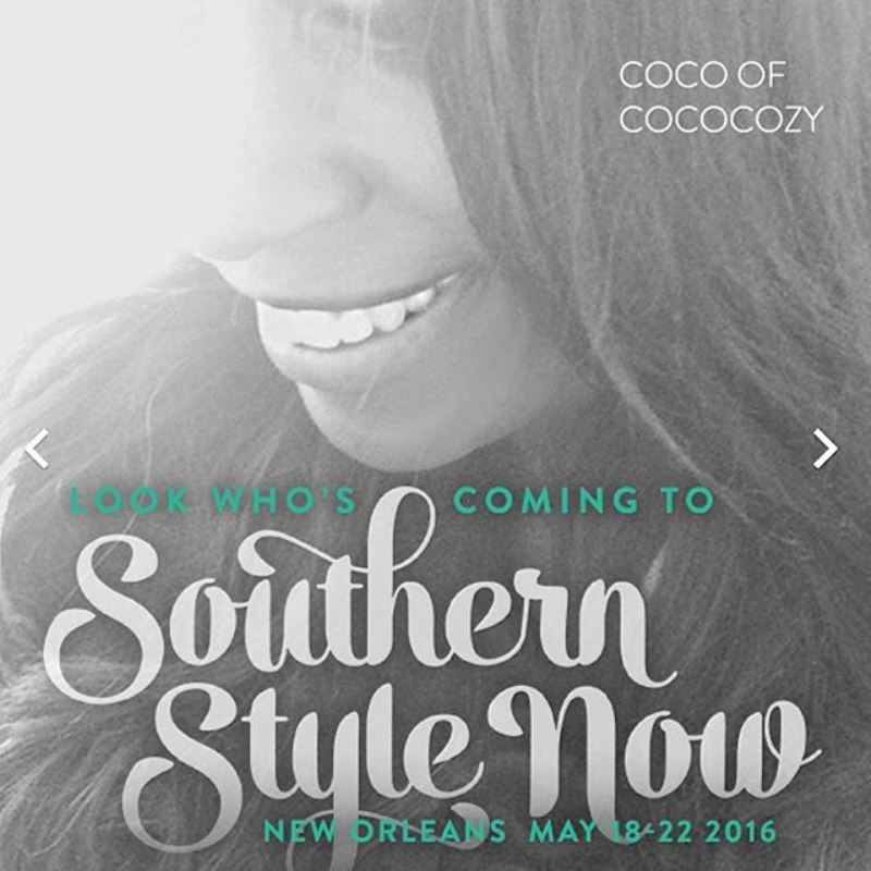 Southern Style Now Coco COCOCOZY