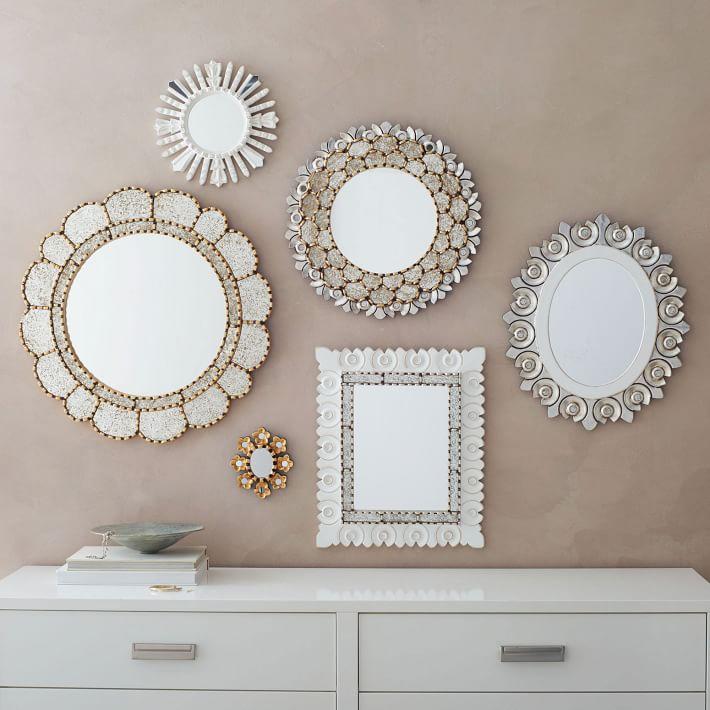 West Elm Peruvian Mirror Collection.