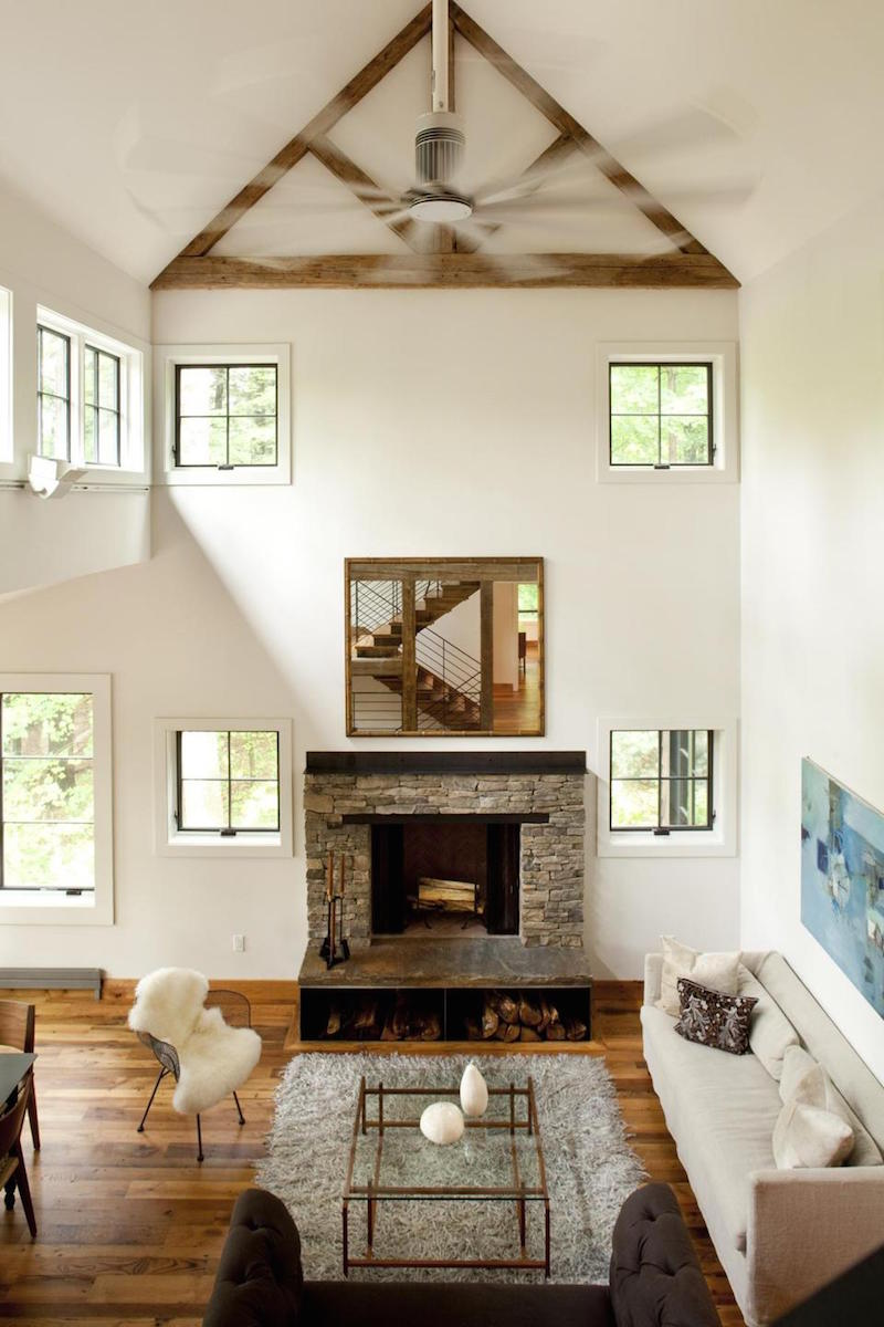 Barn House Living Rooms Berkshires