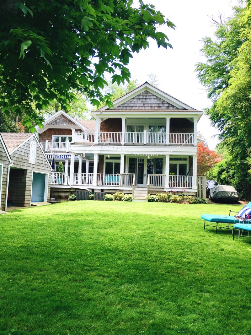 East Hampton Weekend Travels Backyard House Exterior