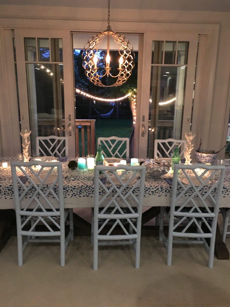 East Hampton Weekend Travel Dinner Party