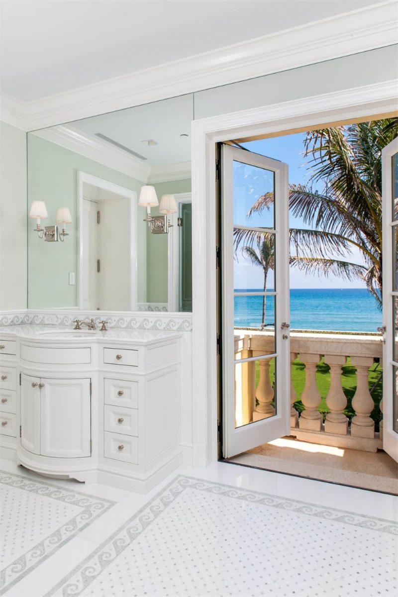 Palm Beach Estate Master Bath