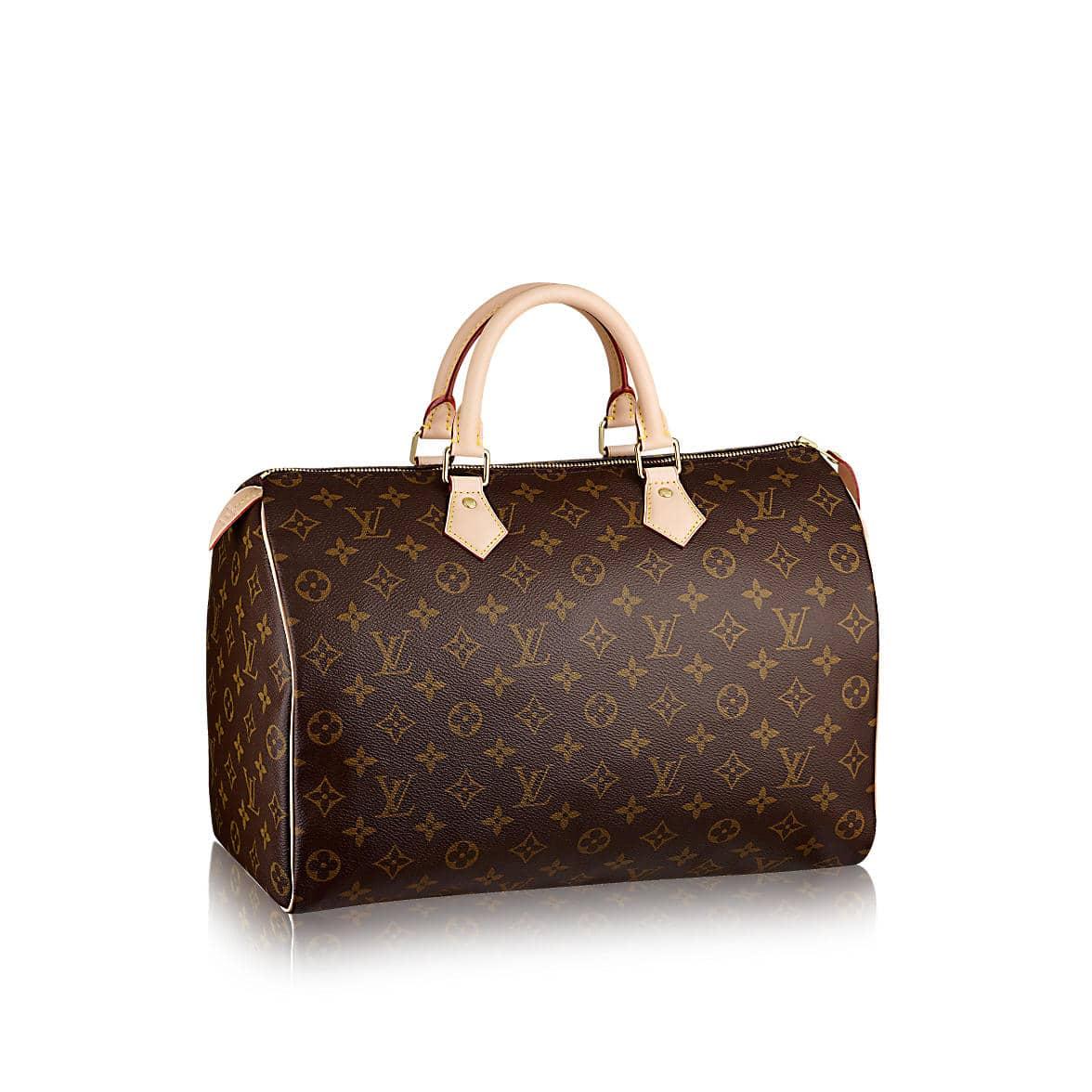 Louis Vuitton Speedy 35 Monogram Bag Purse