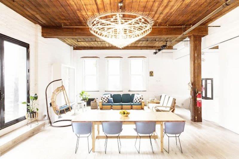 lovely loft chandelier dining living room swing chair