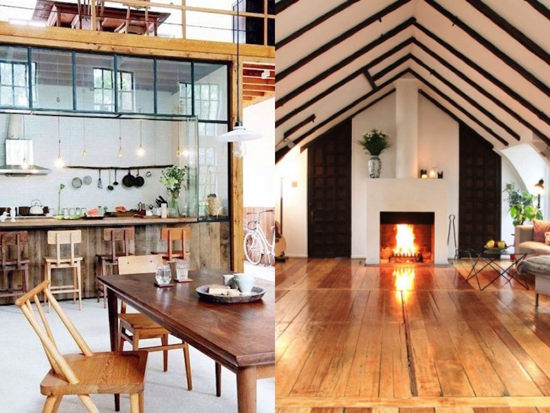 lovely lofts wooden floors a frame ceilings exposed beams