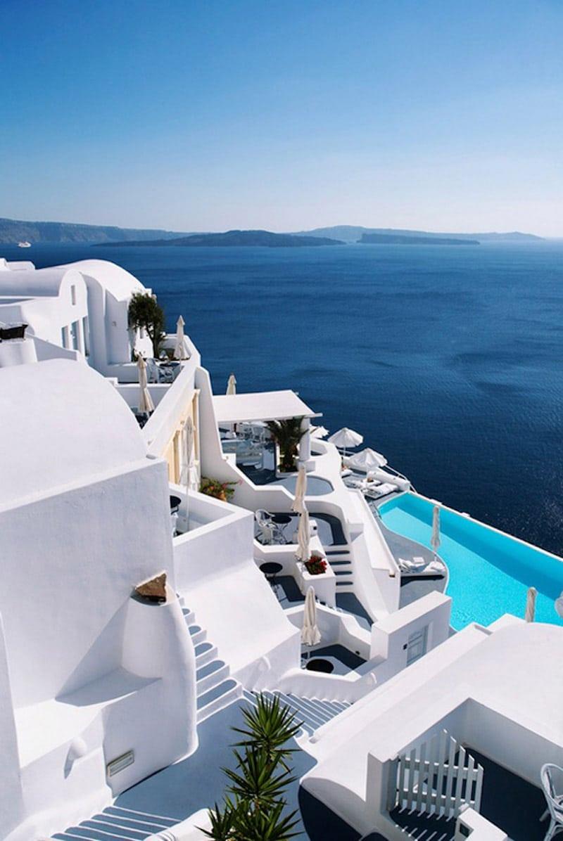 erika brechtel greece vacation instagram favorites
