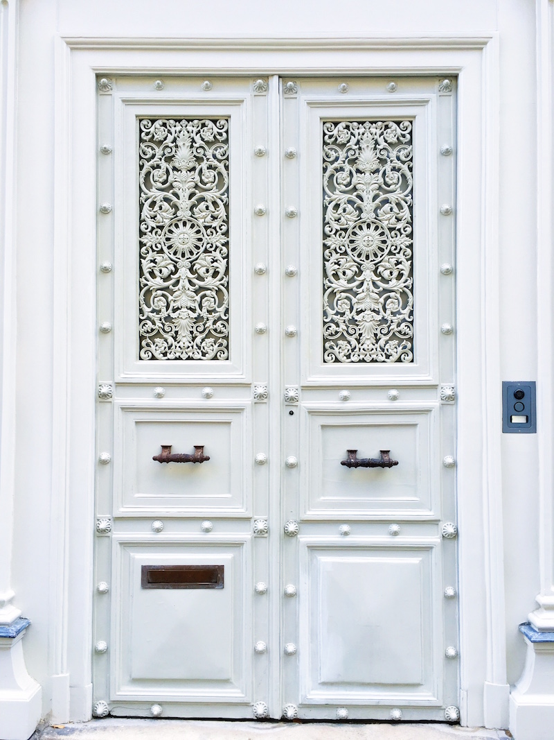 White Paris Doors
