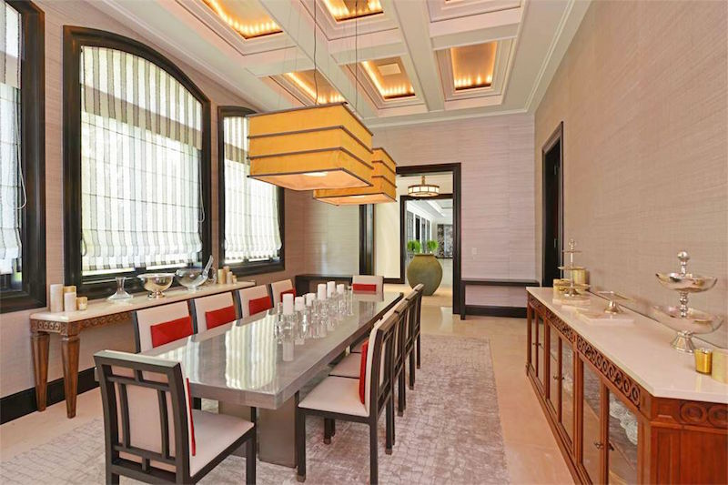 casa sophia bahamas dining room marble counters