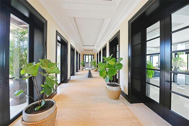 casa sophia bahamas estate hallway