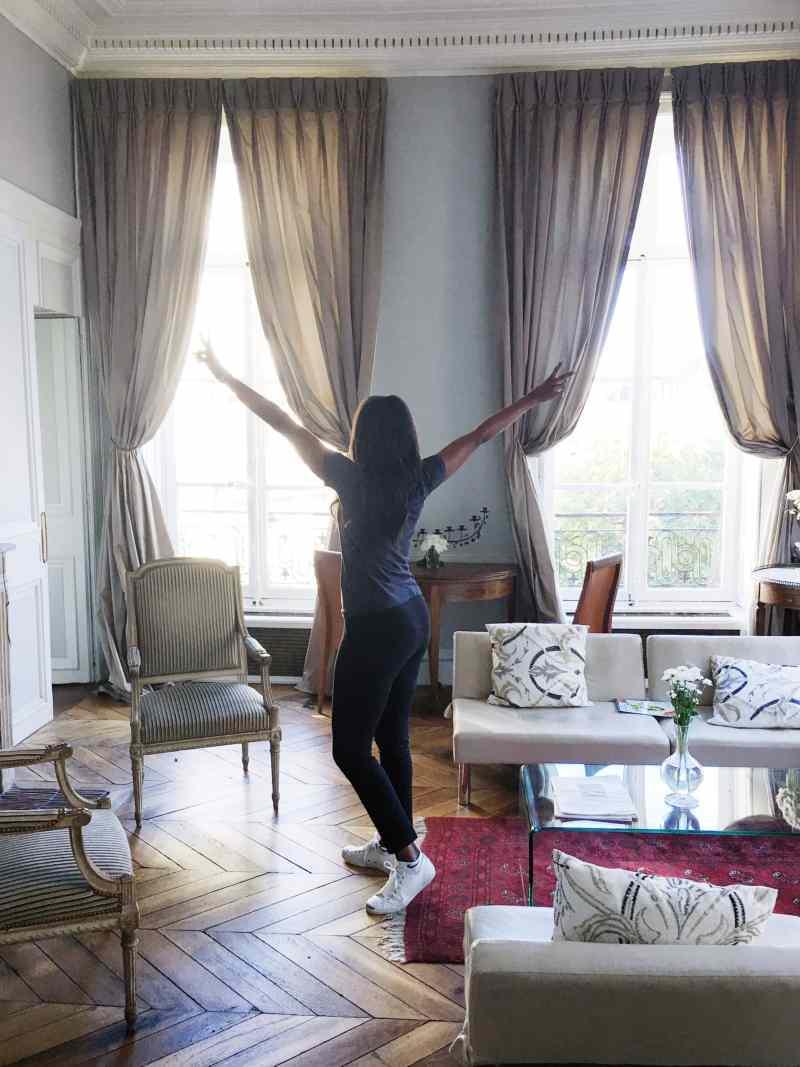 Paris apartment tour
