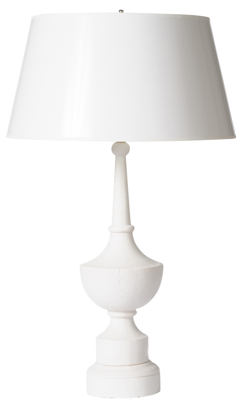 Cute Tiered Lamp Set french white lamp