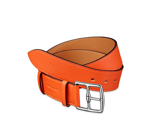 hermes orange belt