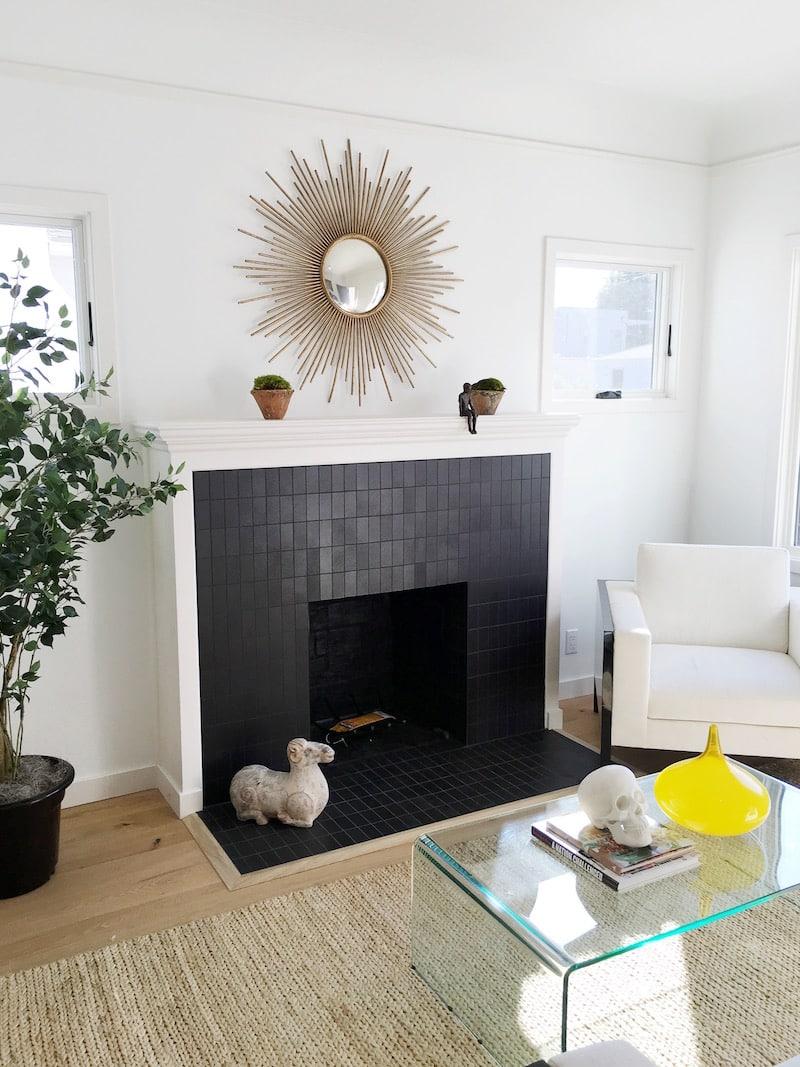venice cottage living room