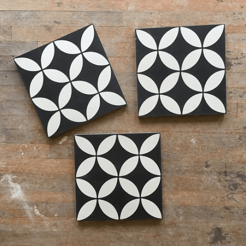 black white ceramic tile shop tiles