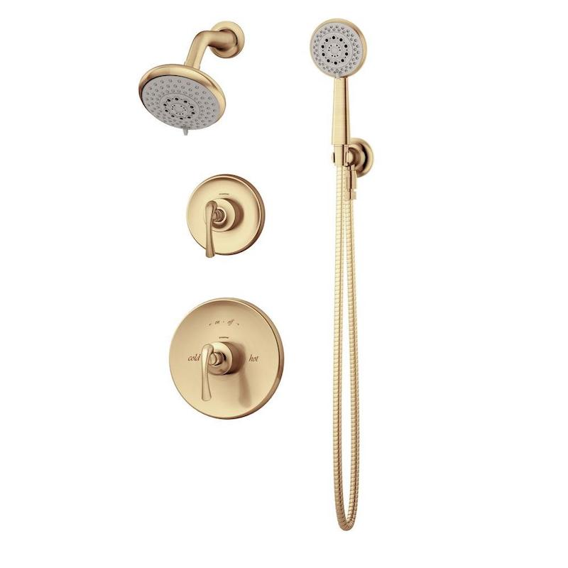 gold shower head boho bathroom home depot