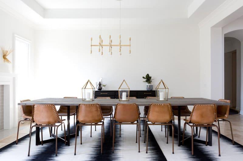 Modern Bohemian Dining Room