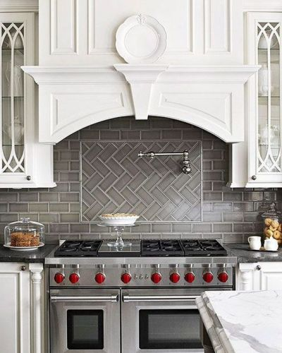 Preferred 17 Tempting Tile Backsplash Ideas for Behind the Stove | COCOCOZY RQ99