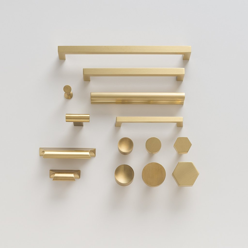 Brass Hardware Megatrend Shiny Knobs Handles Here To