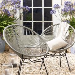 Woven Plastic Garden Chairs Office Customer Best Outdoor Armchairs Cococozy Bloglovin
