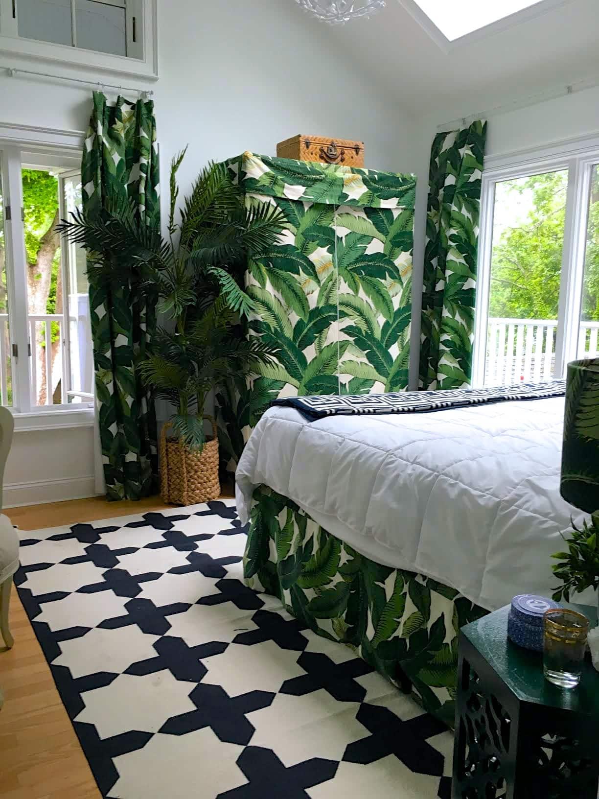 tropical bedroom cococozy