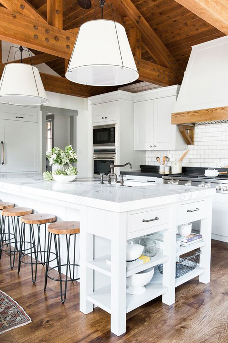 Cabin Mountain Home Kitchen Remodel Cococozy