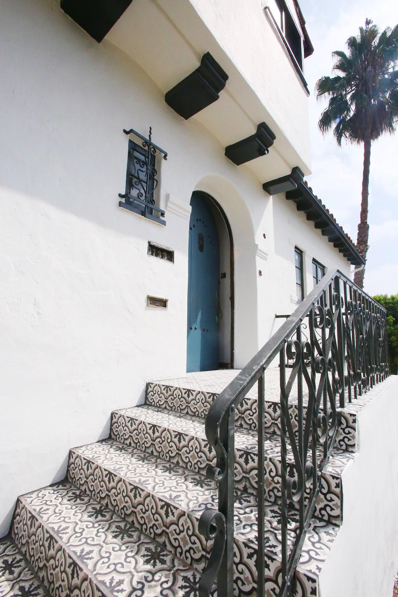 Cococozy Design House Cement Tile Patio Cococozy